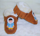 moxies moccasins fully lined suede  north indian mocassins fringe Mokassins