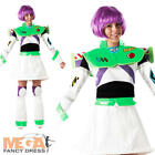 Buzz Lightyear + Wings Ladies Disney Fancy Dress Toy Story Womens Costume Outfit