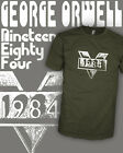 1984 Movie - Big Brother - George Orwell Book - Vintage Shirt Scoop VNeck Raglan