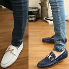 Faddish Men's Casual Shoes Slip On Loafer Shoes Moccasins Driving Shoes UK HF