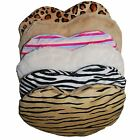 HEAT THERAPY-MICROWAVEABLE BODY WARMER LAVENDER SCENTED ANIMAL/STRIPEY HEART