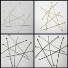 500 Pcs 0.5mm thickness 2mm Ball Headpins - 25mm / 50mm - Various Colours