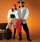 Sew & Make McCall's M4952 SEWING PATTERN - Adult PIRATE HALLOWEEN COSTUMES Uncut