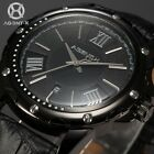 AGENTX Mens 4 Colors 44MM Dial Business Style Date Wrist Quartz Watch +Box