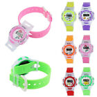 Colorful Boys Girls Students Time Electronic Digital Wrist Sport Watch Vogue
