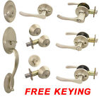 Cosmas 30 Series Satin Nickel Door Lever Knob Hardware