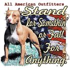 "Dixie Rebel Dog "" STAND FOR SOMETHING "" 50/50 Gildan/Jerzees T"