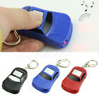 Car LED Light Whistle Sound Control Key Finder Locator Find Lost Keys Keychain