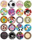 "8 x 9"" PAPER PLATES (23cm) Range of DESIGNS THEMES (Birthday Party Supplies)"