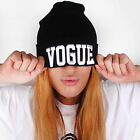 "Men's & Women's Unisex Warm "" Vogue "" Plain Beanie Hip-hop Ski Knit Hats Cap New"
