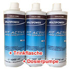 Multipower Mineral Concentrate 3 x 1L FIT Active 3 x 1000ml + Bonus Sonderaktion