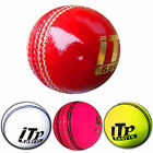 Leather Cricket Ball Hard Balls Match Quality MENS,LADIES Size 4.75 & 5.5 OZ