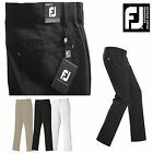 FOOTJOY GOLF TROUSERS MENS GOLF TROUSERS BLACK OR KHAKI CONTEMPORARY FIT * NEW *