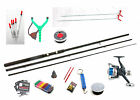 Float Fishing Starter/beginners Kit-Rod,Reel,Floats,Line,Rod Rest,Hooks,shot etc