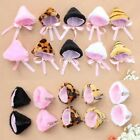Beauty Halloween Lolita Fancy Cosplay Party Anime Cat Ear Hair Clip Pin Pair