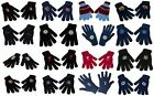 Knitted Gloves Official Football Club One Size Fits All (gift/xmas/present)