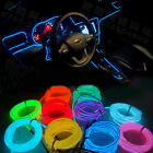 Multicolor Flexible EL Wire Rope Tube Neon Cold led Light For Car DIY Decoration