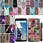 For Motorola Google Nexus 6 Design TPU SILICONE Soft Skin Phone Case Cover + Pen