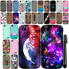 For ZTE Grand X Z777 Cute Design TPU SILICONE Soft Skin Phone Case Cover + Pen