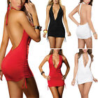 Sexy ladies Lingerie Nightwear Underwear Babydoll Sleepwear Backless Mini Dress