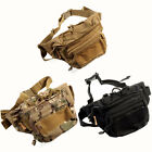 Outdoor Sports Cycling Travel Hiking Nylon Waist Pack Fanny Bag Chest Backpack