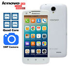 Original Lenovo A388T 5 Inch Android 4.1 Smartphone Quadcore GPS Bluetooth 5MP