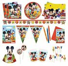 PLAYFUL MICKEY MOUSE Birthday PARTY RANGE (Partyware/Decoration)
