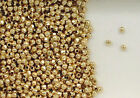 Gold Filled Beads, 2mm Faceted Round Beads, New