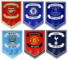 OFFICIAL FOOTBALL CLUB METAL KEY KEYS HANGING HOOK PENNANT SIGN WALL GIFT XMAS