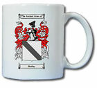 HUFFEY COAT OF ARMS COFFEE MUG