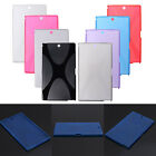 X-Line Wave TPU Flexible Gel Soft Back Case Cover For Sony Z3 Tablet Compact