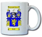 DORRELL COAT OF ARMS COFFEE MUG