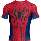 UNDER ARMOUR 1254143 HG Compression Alter Ego FullSuit SS Tee Spiderman Shirt