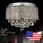 NEW Modern 40cm Crystal chandeliers 6 lights Pendant lamp Ceiling Lights 4026H