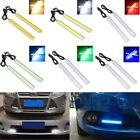 2X 14CM LED COB Car Driving Daytime Running Light DRL Fog Lamp Waterproof 12V