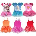 Girl Gymnastic Dance Skate Dress Kids 3-8Y Ballet Leotard Tutu Dancewear Skirt