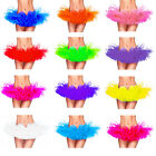 B&N Women Adult Ballet Mini Tutu Skirt Fluffy Dance Costume Boutique Skirt Solid