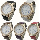 Tide Fashion Roman Scale Watch Women Rhinestone Quartz Ladies WristWatch