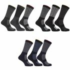 (Free PnP) Mens Extra Large Hard Wearing Work Socks Sizes 11-14 (Pack Of 3)