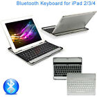 Ultra Slim Wireless Magnetic Bluetooth Keyboard Aluminium Case For iPad 2 3 4