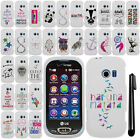 For LG Extravert 2 VN280 Art Cute Design PATTERN HARD Case Cover Phone + Pen