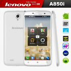 """Lenovo A850i 5.5"""" IPS Quad Core 1.3GHz Dual SIM Android 4.2 White Mobile Phone"""