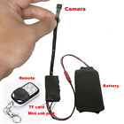 HD 1080P DIY Module SPY Hidden Camera Video MINI DV DVR Motion w Remote Control