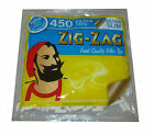 Zig Zag 450 Ultra Slim Filter Tips Cigarette Rolling Resealable Bag Smoking