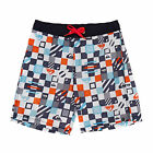 Quiksilver Checkered Youth  Boys  Board Shorts - Checkered Volley White