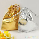 25/50PCS POPULAR CUTE DRAWSTRING ORGANZA JEWELRY FAVOUR WEDDING CANDY POUCH BAGS