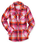 Aeropostale Womens Signature Button Up Shirt