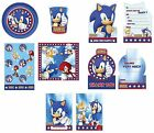SONIC THE HEDGEHOG (& Tails) Birthday PARTY RANGE - Tableware {Gemma}
