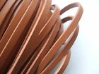 5/10 Meters Flat 5*2mm Real Leather Cord for Jewelry Making Red/Brown New Style