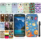For Samsung Galaxy S5 Active G870A Cute Design TPU SILICONE Case Cover + Pen